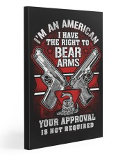 15 Gun Control Right To Bear Arms 20x30 Gallery Wrapped Canvas Prints thumbnail