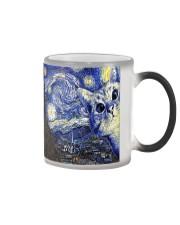 Cat Starry Night  Color Changing Mug thumbnail