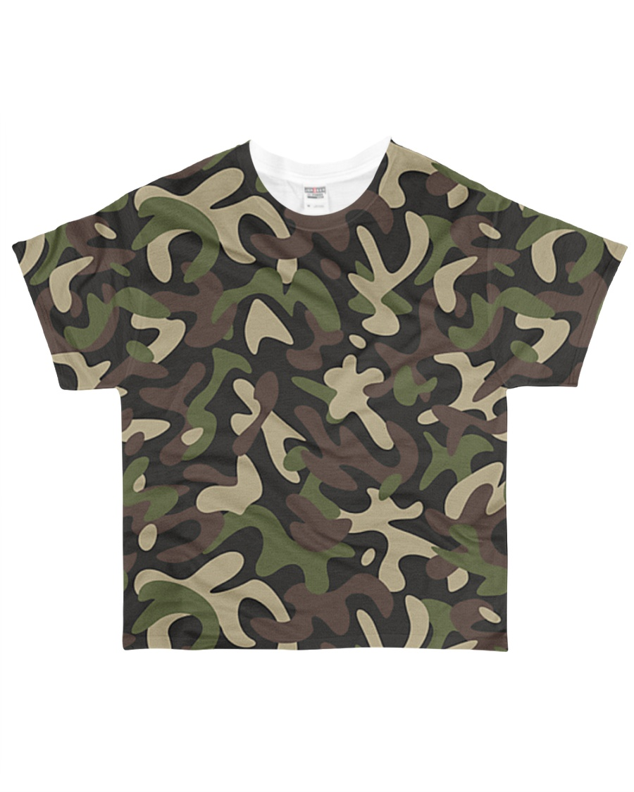 Camouflage All-over T-Shirt