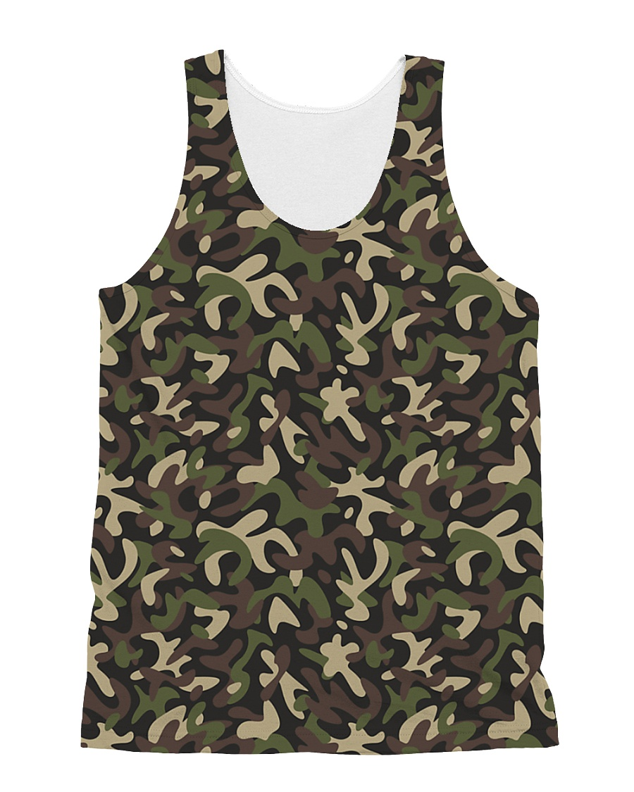 Camouflage All-over Unisex Tank