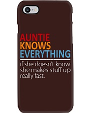 AUNTIE Knows Everything Phone Case thumbnail