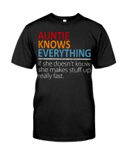 AUNTIE Knows Everything Classic T-Shirt thumbnail