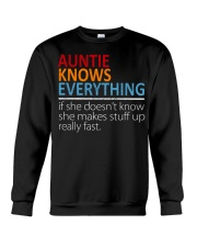 AUNTIE Knows Everything Crewneck Sweatshirt thumbnail