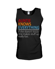 AUNTIE Knows Everything Unisex Tank thumbnail