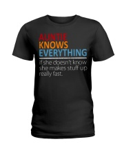 AUNTIE Knows Everything Ladies T-Shirt thumbnail