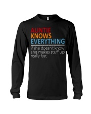 AUNTIE Knows Everything Long Sleeve Tee thumbnail