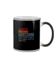 AUNTIE Knows Everything Color Changing Mug thumbnail