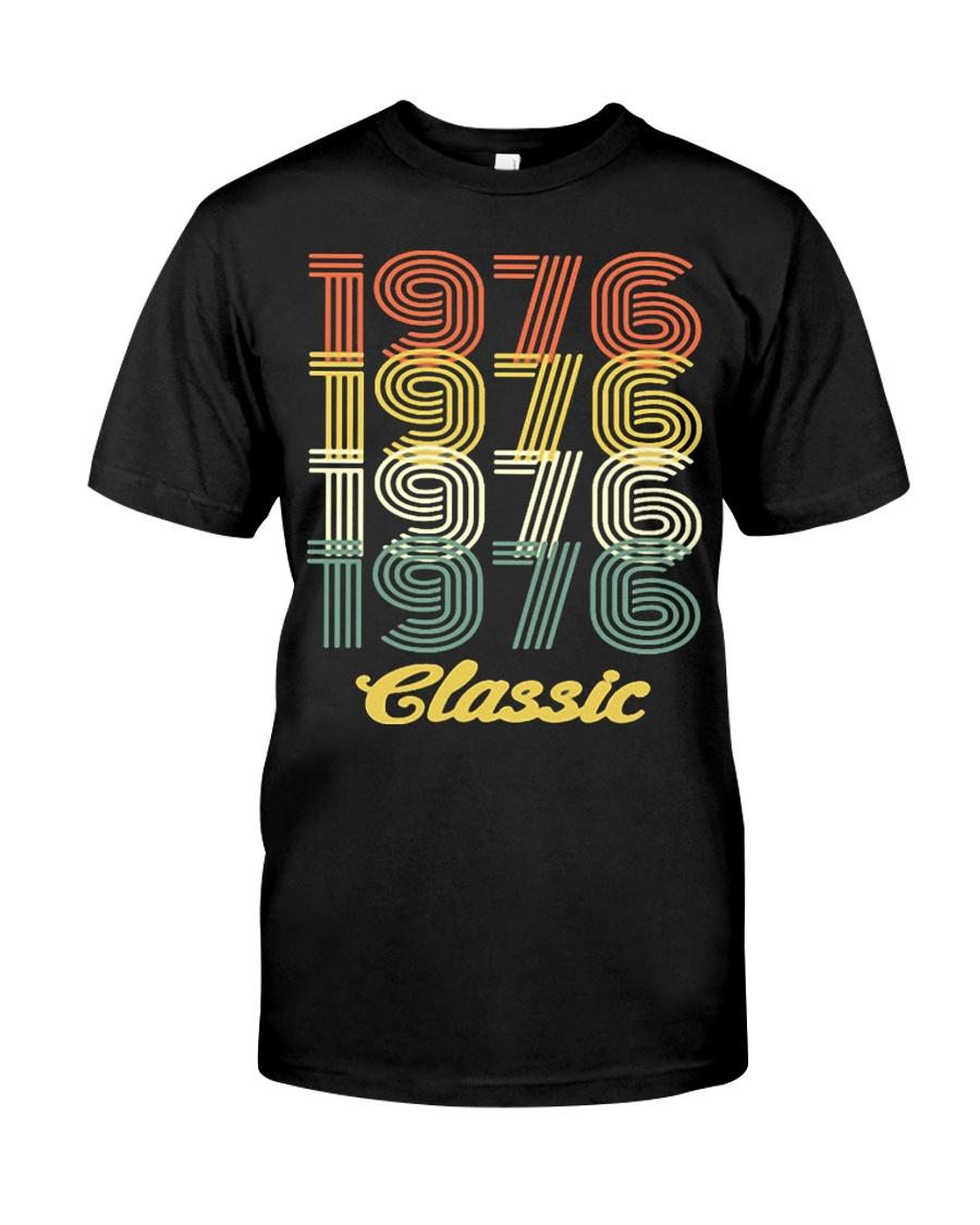 1976 classic age shirt vintage funny Classic T-Shirt