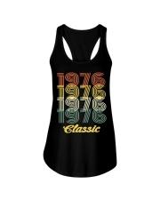 1976 classic age shirt vintage funny Ladies Flowy Tank thumbnail