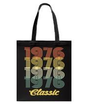 1976 classic age shirt vintage funny Tote Bag thumbnail