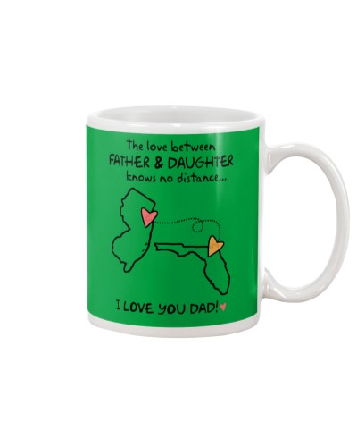 Father Daughter NJ Mug Father's Day Gift