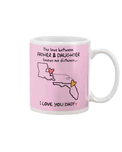 Father Daughter LA Mug Father's Day Gift
