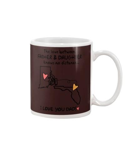 Father Daughter RI Mug Father's Day Gift