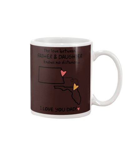 Father Daughter ND Mug Father's Day Gift