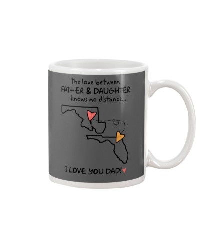 Father Daughter MD Mug Father's Day Gift
