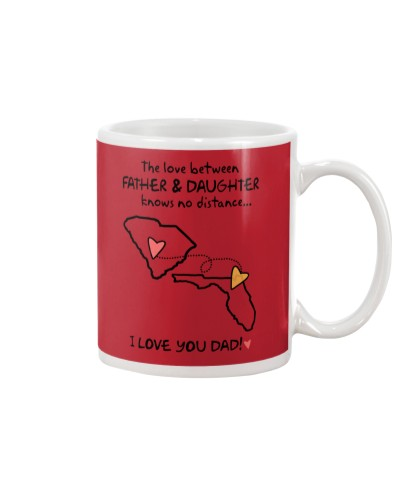 Father Daughter SC Mug Father's Day Gift