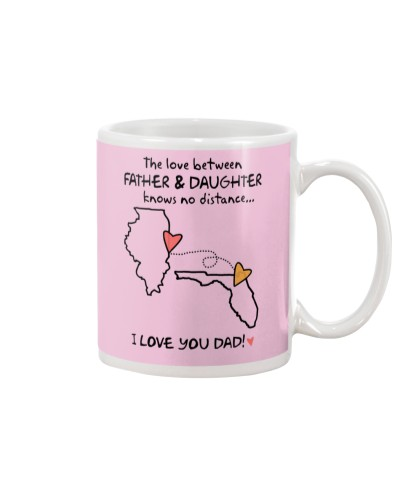 Father Daughter IL Mug Father's Day Gift