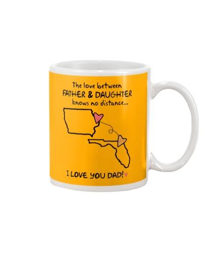 Father Daughter IA Mug Father's Day Gift