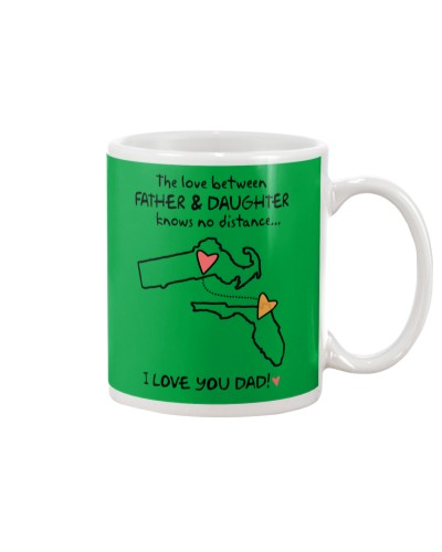 Father Daughter MA Mug Father's Day Gift