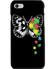 Autism Awareness Butterfly Puzzle Phone Case thumbnail