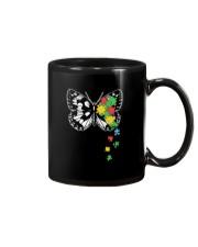 Autism Awareness Butterfly Puzzle Mug thumbnail