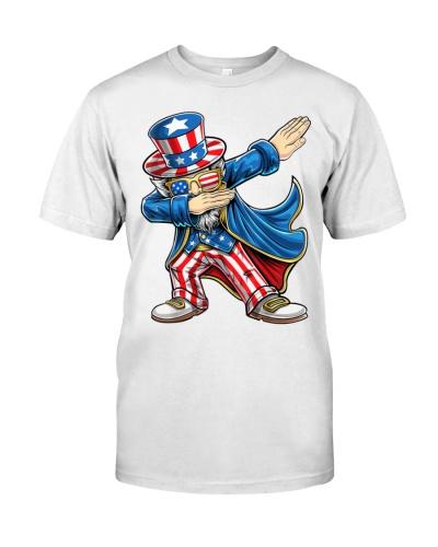 Dabbing Uncle Sam Patriotic 4th of July