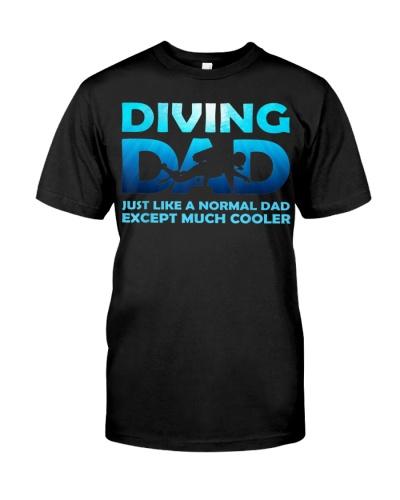 Diving Dad Dive Scuba Diving