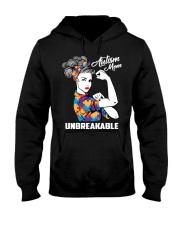 Autism Mom Unbreakable Hooded Sweatshirt thumbnail