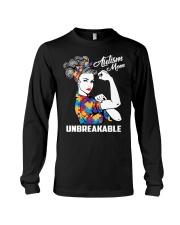 Autism Mom Unbreakable Long Sleeve Tee thumbnail