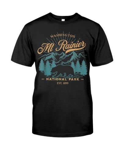 Mount Rainier National Park Bear