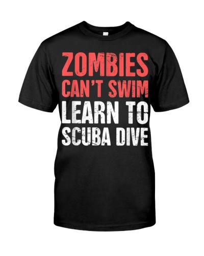Funny Scuba Diver