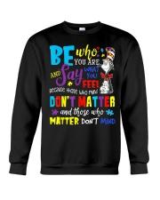 Who Matter Don't Mind Crewneck Sweatshirt thumbnail