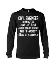 Civil Engineer LIKE A COMMA Long Sleeve Tee thumbnail