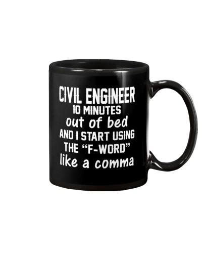 Civil Engineer LIKE A COMMA