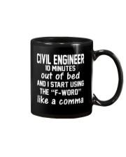 Civil Engineer LIKE A COMMA Mug thumbnail
