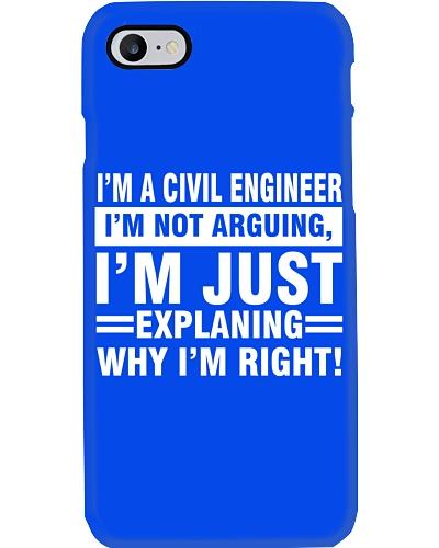 CIVIL ENGINEER I AM NOT ARGUING