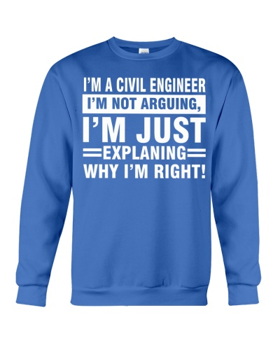 CIVIL ENGINEER I AM NOT ARGUING