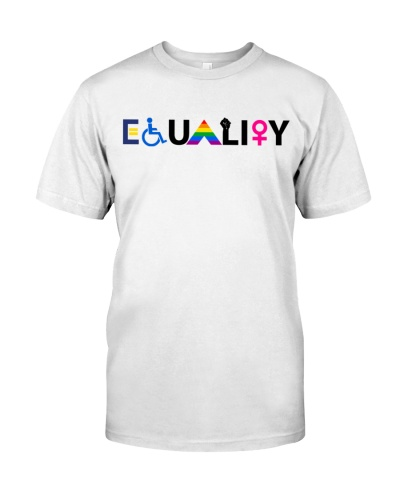 Equal Rights LGBTQ Ally Unity Pride Feminist