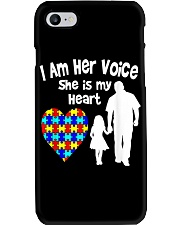 I Am Her Voice She Is My Heart Phone Case thumbnail