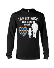 I Am Her Voice She Is My Heart Long Sleeve Tee thumbnail
