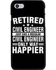 JUST LIKE A REGULAR CIVIL ENGINEER Phone Case thumbnail
