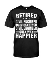 JUST LIKE A REGULAR CIVIL ENGINEER Classic T-Shirt tile