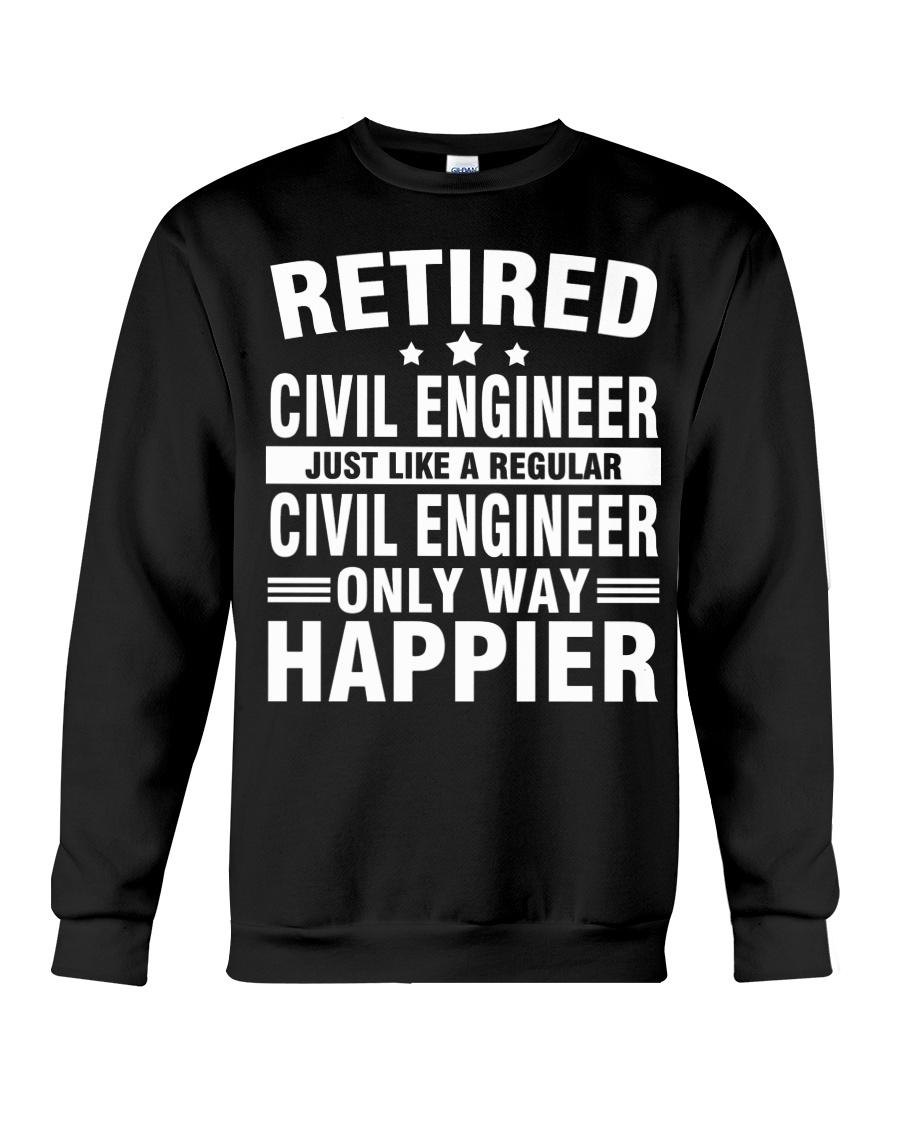 JUST LIKE A REGULAR CIVIL ENGINEER Crewneck Sweatshirt