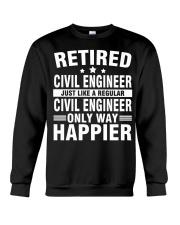 JUST LIKE A REGULAR CIVIL ENGINEER Crewneck Sweatshirt front