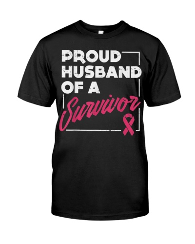 Proud Husband Of Survivor Breast Cancer Awareness