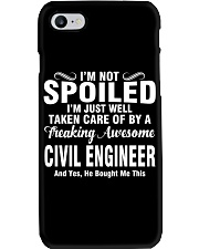 Well Taken Care Of By CIVIL ENGINEER Phone Case thumbnail