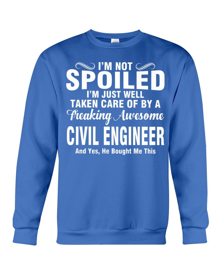 Well Taken Care Of By CIVIL ENGINEER Crewneck Sweatshirt