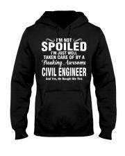 Well Taken Care Of By CIVIL ENGINEER Hooded Sweatshirt thumbnail