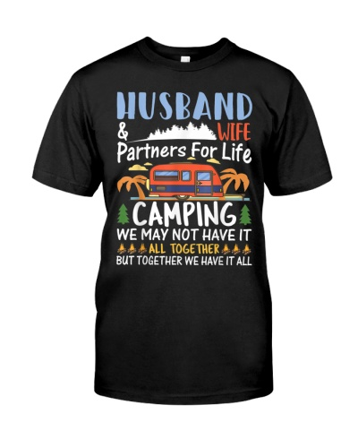 Husband Wife Camping Partners for Life Camping