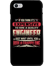 HIRE A QUALITY ENGINEER Phone Case thumbnail